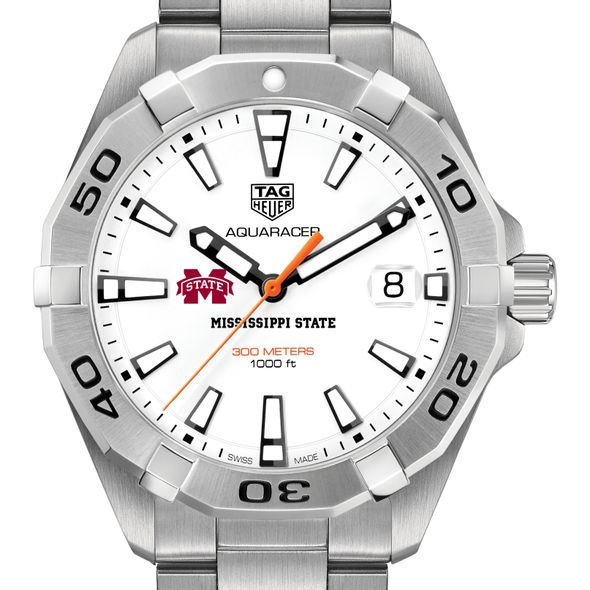 Mississippi State Men's TAG Heuer Steel Aquaracer