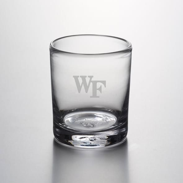 Wake Forest Double Old Fashioned Glass by Simon Pearce