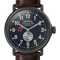 Tepper Shinola Watch, The Runwell 47mm Midnight Blue Dial - Image 1