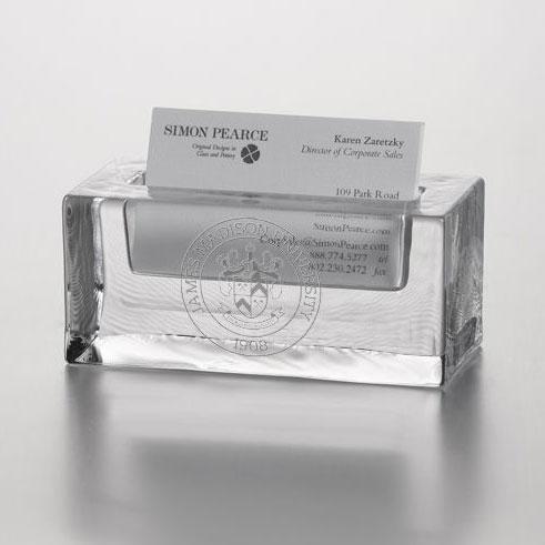 James Madison Glass Business Cardholder by Simon Pearce - Image 2
