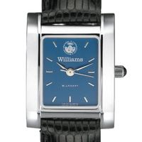 Williams College Women's Blue Steel Quad with leather strap