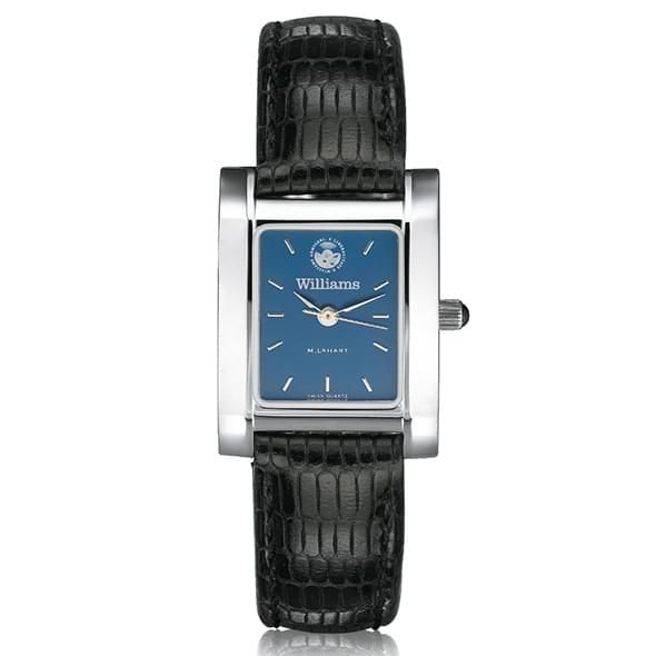Williams College Women's Blue Steel Quad with leather strap - Image 2