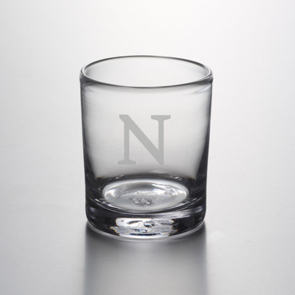 Northwestern Double Old Fashioned Glass by Simon Pearce - Image 1