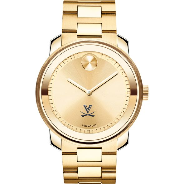 University of Virginia Men's Movado Gold Bold - Image 2