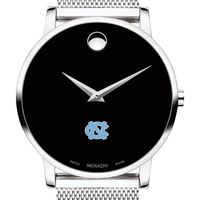 University of North Carolina Men's Movado Museum with Mesh Bracelet