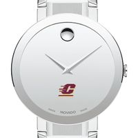 Central Michigan Men's Movado Sapphire Museum with Bracelet