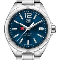 Rutgers University Women's TAG Heuer Formula 1 with Blue Dial