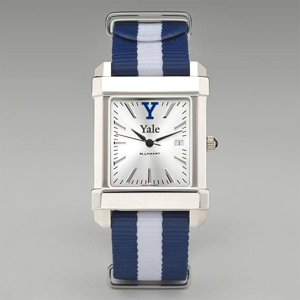 Yale University Collegiate Watch with NATO Strap for Men - Image 2