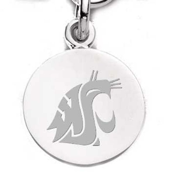 Washington State University Sterling Silver Charm