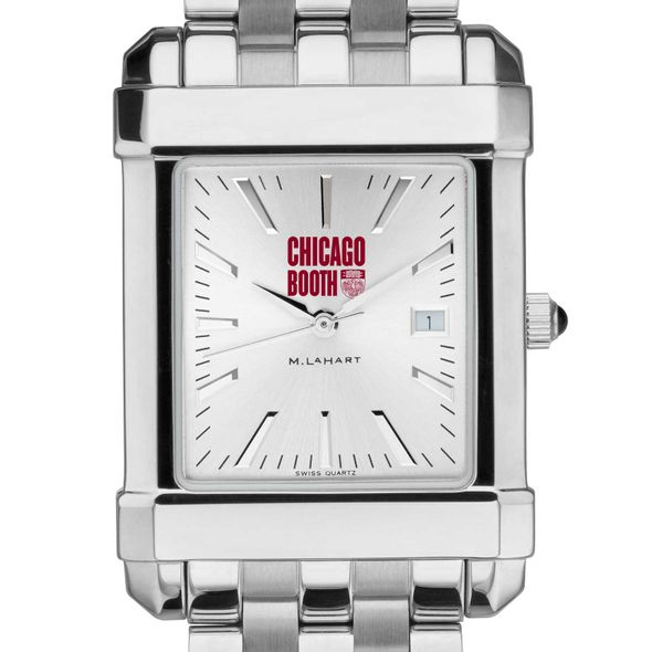 Chicago Booth Men's Collegiate Watch w/ Bracelet - Image 1