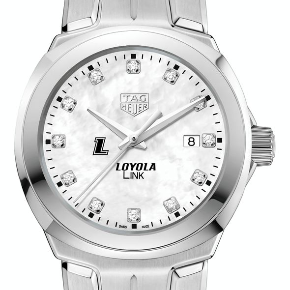 Loyola TAG Heuer Diamond Dial LINK for Women - Image 1