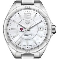 Texas A&M University Women's TAG Heuer Formula 1 with MOP Dial