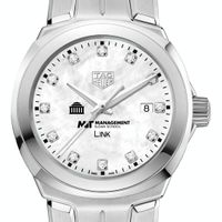 MIT Sloan TAG Heuer Diamond Dial LINK for Women