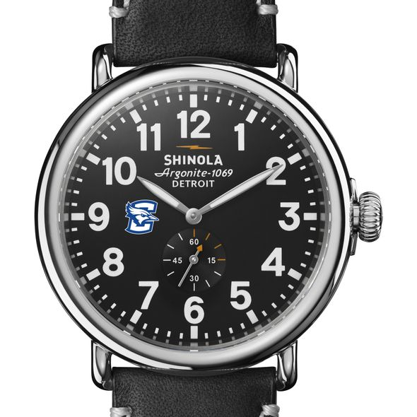 Creighton Shinola Watch, The Runwell 47mm Black Dial - Image 1