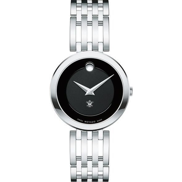 College of William & Mary Women's Movado Esparanza Stainless Steel Museum with Bracelet - Image 2