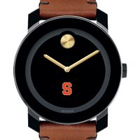 Syracuse University Men's Movado BOLD with Brown Leather Strap