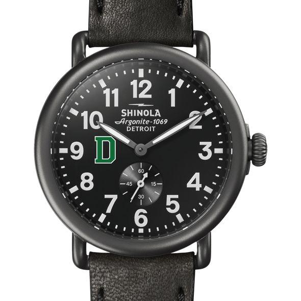 Dartmouth Shinola Watch, The Runwell 41mm Black Dial - Image 1