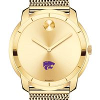 Kansas State University Men's Movado Gold Bold 44