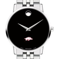 University of Arkansas Men's Movado Museum with Bracelet