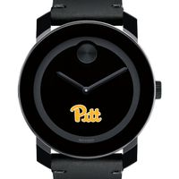Pitt Men's Movado BOLD with Leather Strap
