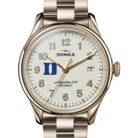 Duke Shinola Watch, The Vinton 38mm Ivory Dial