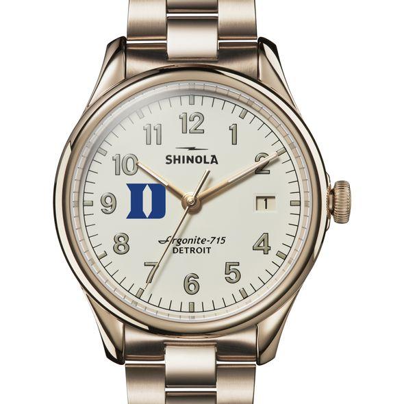 Duke Shinola Watch, The Vinton 38mm Ivory Dial