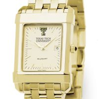 Texas Tech Men's Gold Quad with Bracelet