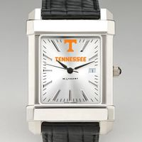 Tennessee Men's Collegiate Watch with Leather Strap
