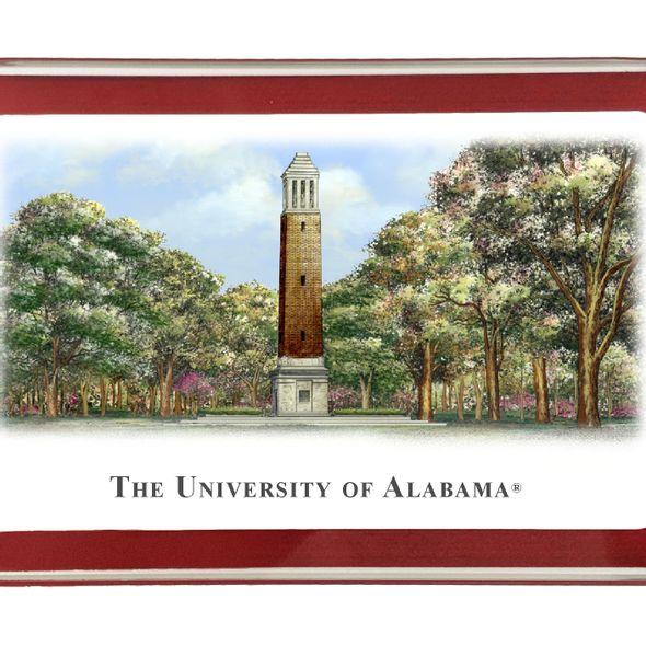 Alabama Eglomise Paperweight - Image 2
