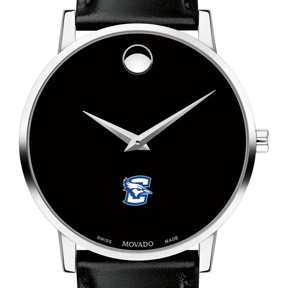 Creighton Men's Movado Museum with Leather Strap - Image 1