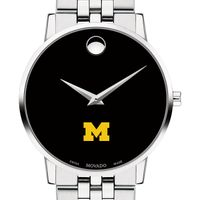 University of Michigan Men's Movado Museum with Bracelet