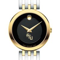 Florida State University Women's Movado Esparanza Two-Tone Museum with Bracelet
