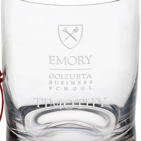Emory Goizueta Tumbler Glasses - Set of 4 - Image 3