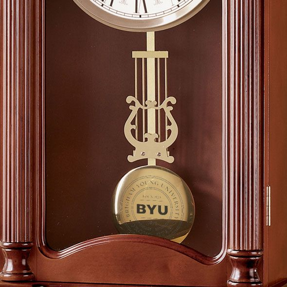 Brigham Young University Howard Miller Wall Clock - Image 2