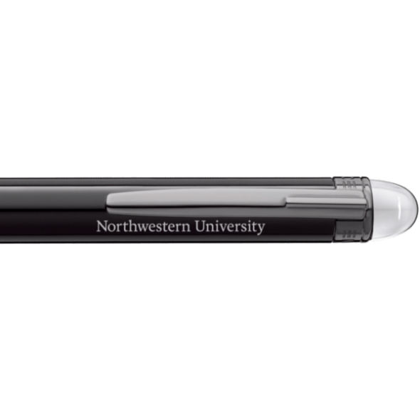 Northwestern University Montblanc StarWalker Ballpoint Pen in Ruthenium - Image 2