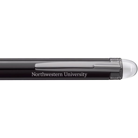 Northwestern University Montblanc StarWalker Ballpoint Pen in Ruthenium - Image 2