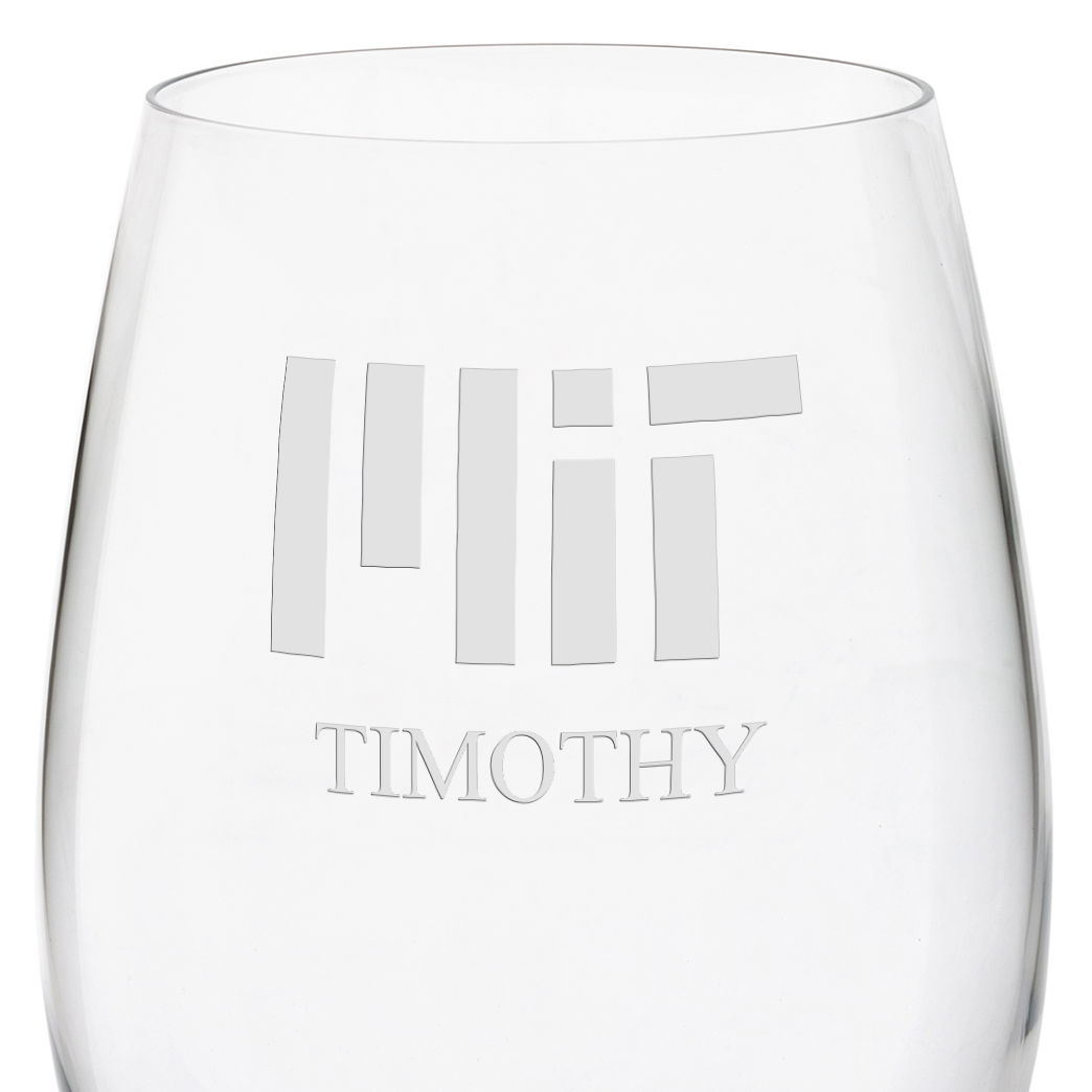 MIT Red Wine Glasses - Set of 2 - Image 3