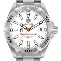 Northeastern Men's TAG Heuer Steel Aquaracer