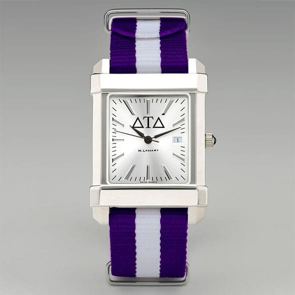 Delta Tau Delta Men's Collegiate Watch w/ NATO Strap - Image 2