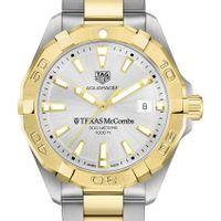 Texas McCombs Men's TAG Heuer Two-Tone Aquaracer