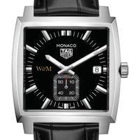 College of William & Mary TAG Heuer Monaco with Quartz Movement for Men