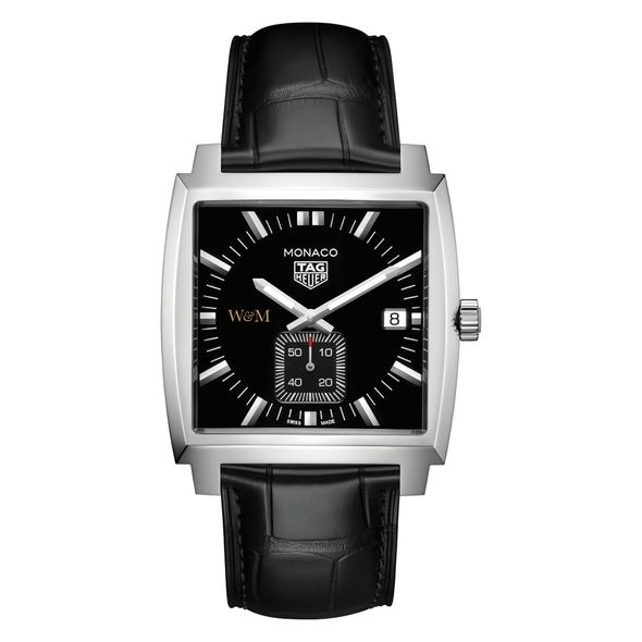 College of William & Mary TAG Heuer Monaco with Quartz Movement for Men - Image 2