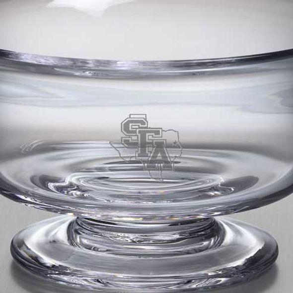 SFASU Simon Pearce Glass Revere Bowl Med - Image 2