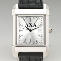 Lambda Chi Alpha Men's Collegiate Watch with Leather Strap