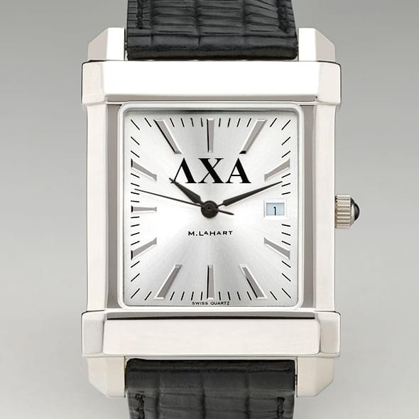 Lambda Chi Alpha Men's Collegiate Watch with Leather Strap