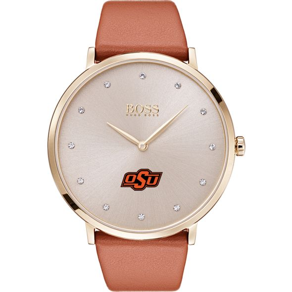 Oklahoma State University Women's BOSS Champagne with Leather from M.LaHart - Image 2
