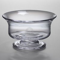 Christopher Newport University Simon Pearce Glass Revere Bowl Med