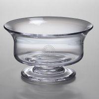 Christopher Newport University Simon Pearce Glass Revere Bowl Med