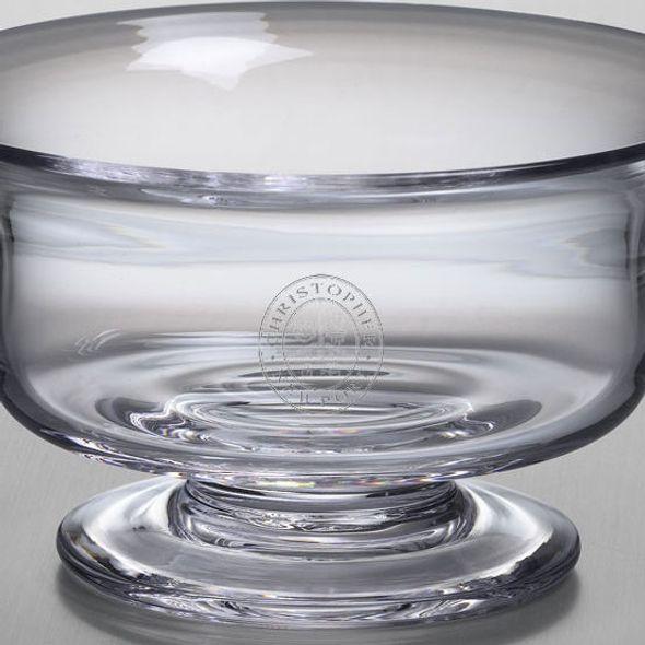 Christopher Newport University Simon Pearce Glass Revere Bowl Med - Image 2