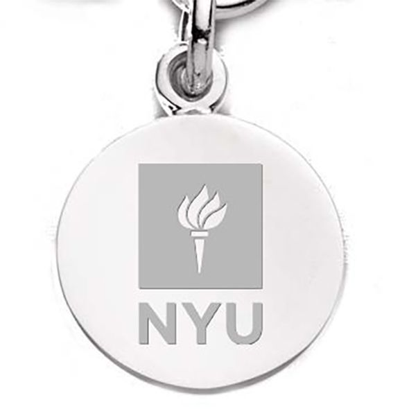 NYU Sterling Silver Charm - Image 2